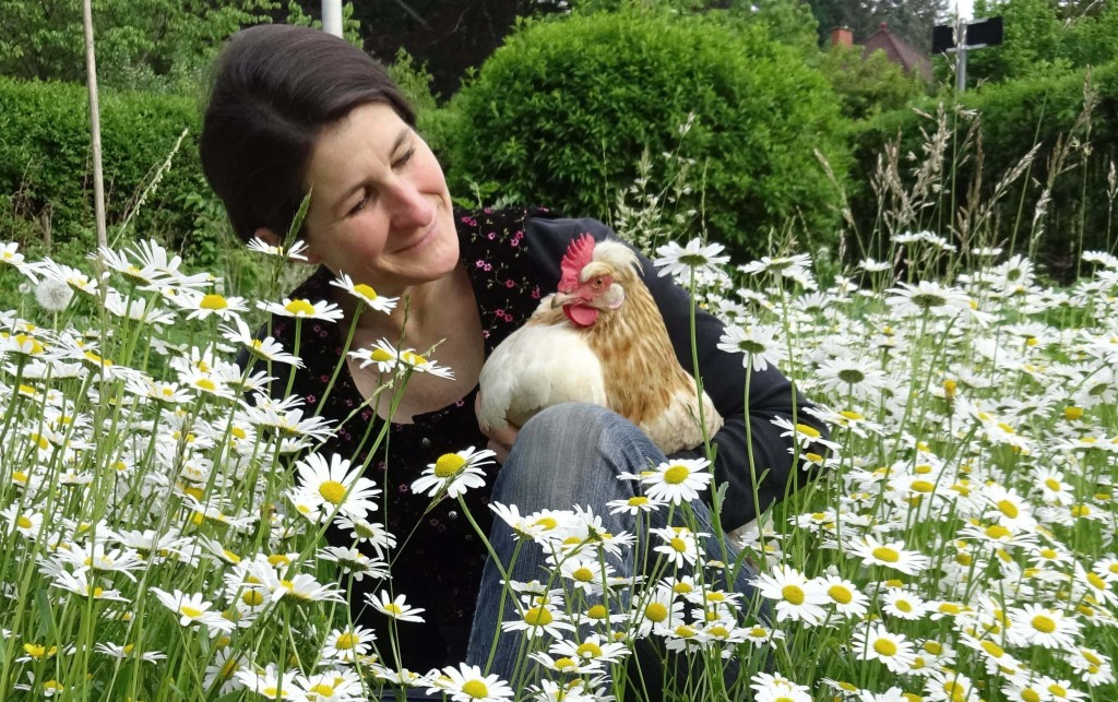 Julia mit Huhn 2_3